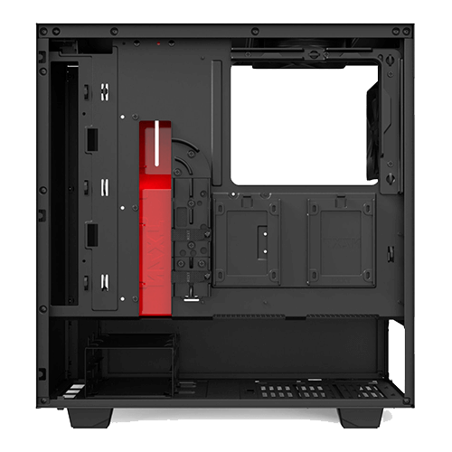 Gabinete Gamer NZXT H510B Mid Tower com 02Fans Vidro temperado