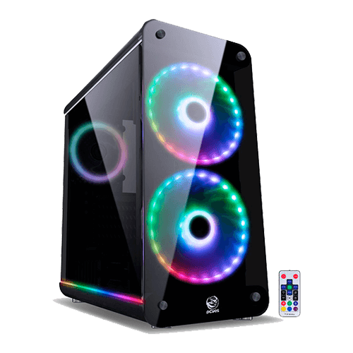 Gabinete Gamer Pcyes Mid Tower Solaris 2