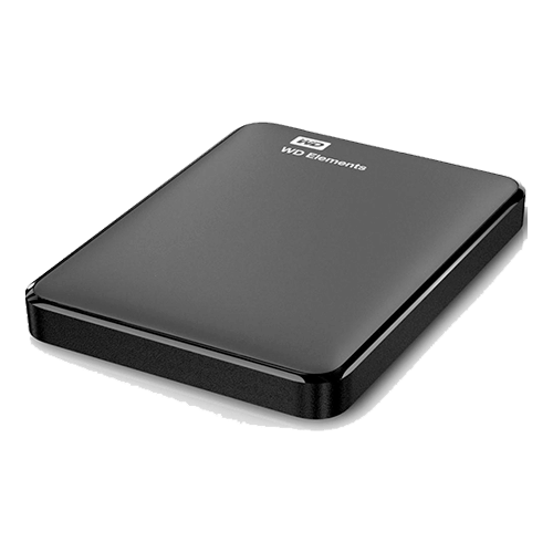 Hd Externo 1TB WD Elements Preto Usb 3.0