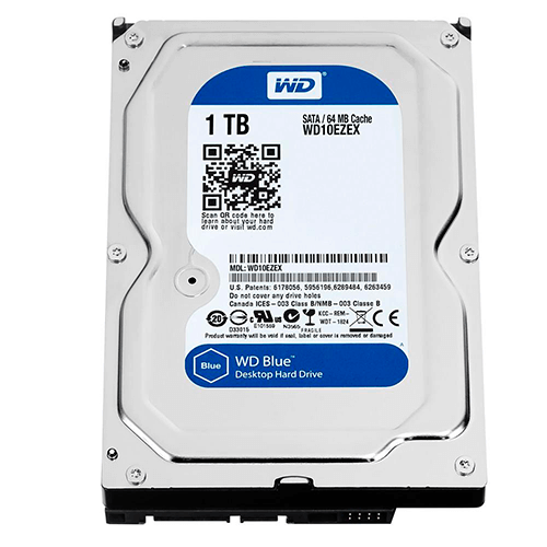 Hd Interno 1TB WD Blue WD10Ezex 64M Sata3 7200Rpm