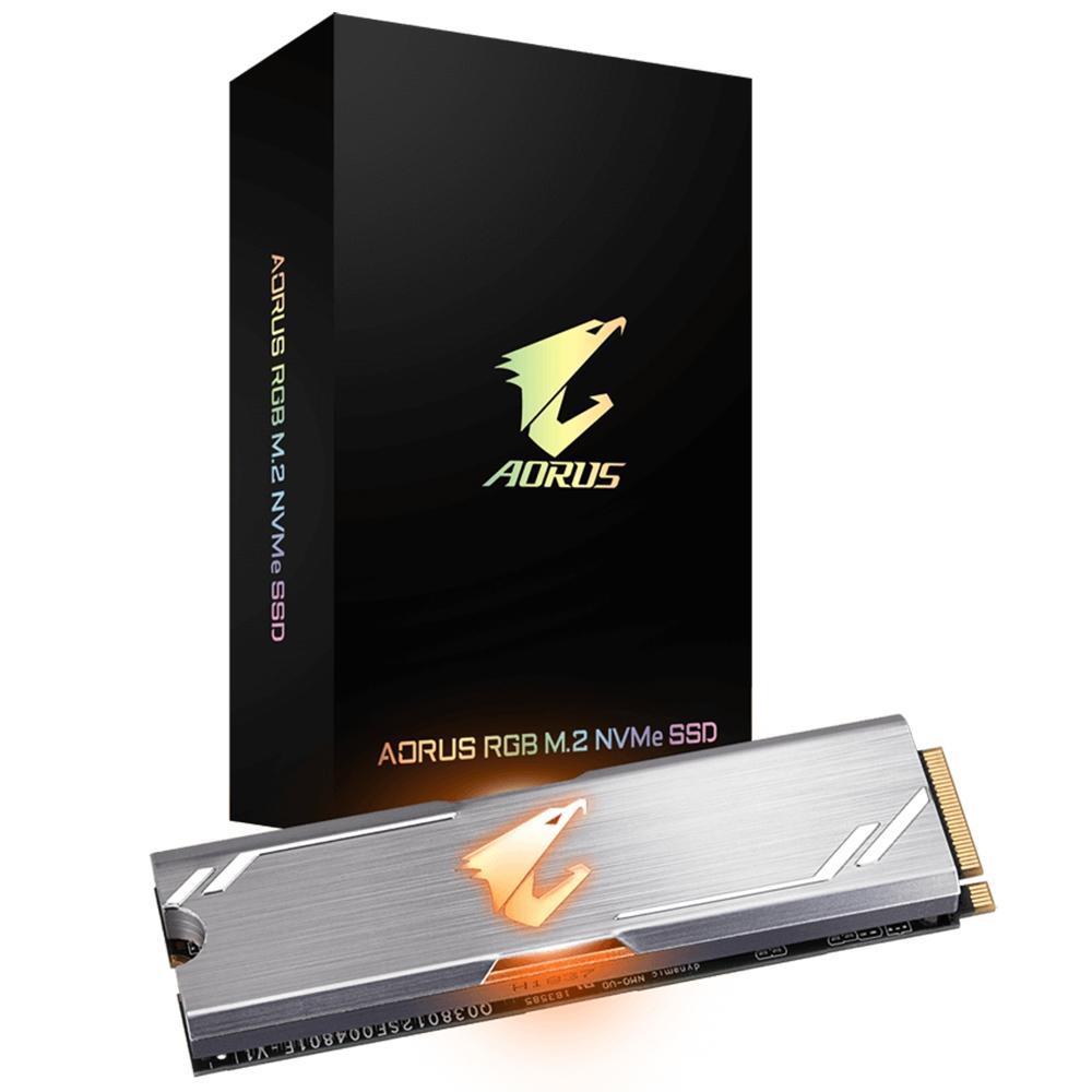 Hd SSD M.2 Nvme 256GB Aorus RGB 3.0