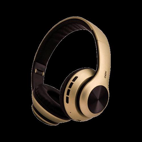 Headset Bluetooth HS311DR Oex Glam Dourado Alcance 10metros