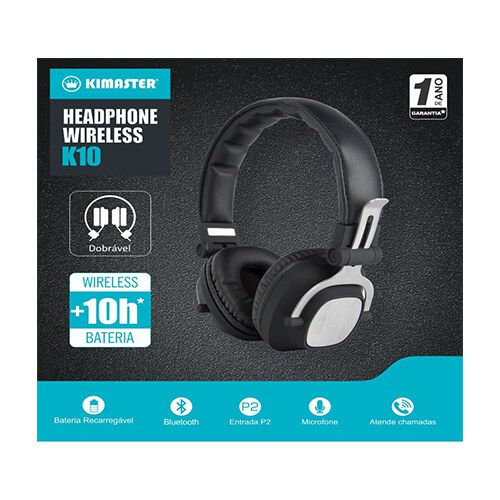 Headset Bluetooth K10 Kimaster