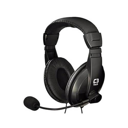 Headset com Microfone MI-I2260 Comfort C3Tech