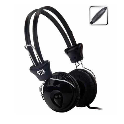 Headset Com Microfone Mi-2280 Tricerix C3Tech