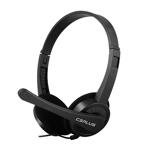 Headset com Microfone PH02 Preto C3Tech