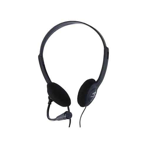 Headset com Microfone PH20 Voicer Light C3Tech