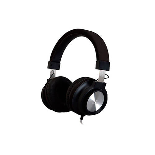 Headset com Microfone PH300BK Preto C3TECH