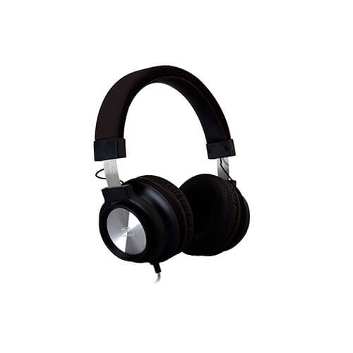 Headset com Microfone PH300BK Preto C3TECH