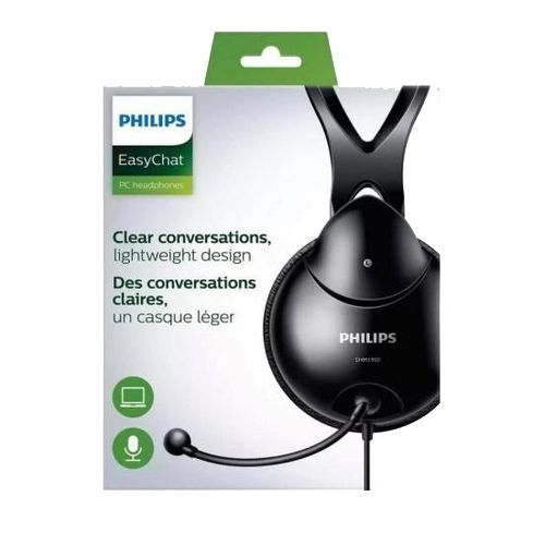 Headset  com Microfone SHM1900/00 Preto PHILIPS