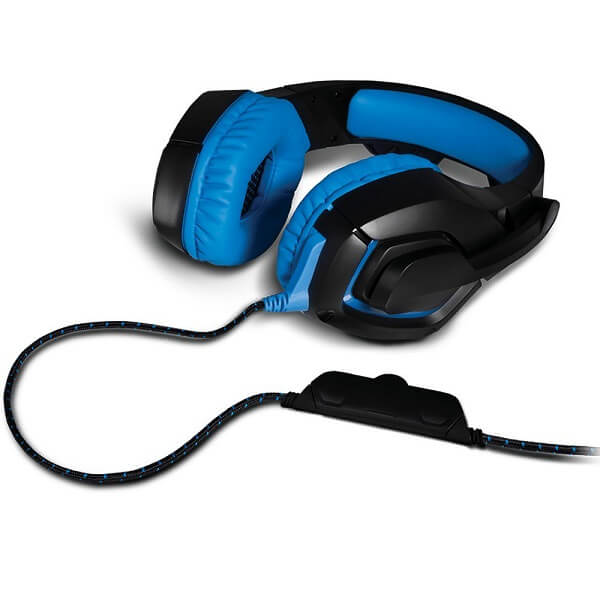 Headset Gamer C/Microf Ph244 USB Blue Warrior