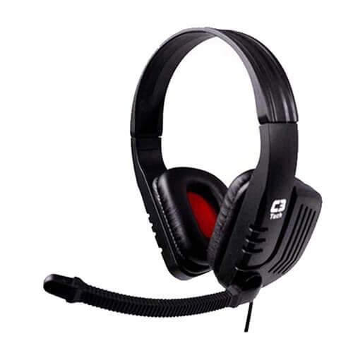 Headset Gamer com Microfone MI-2558RB C3Tech
