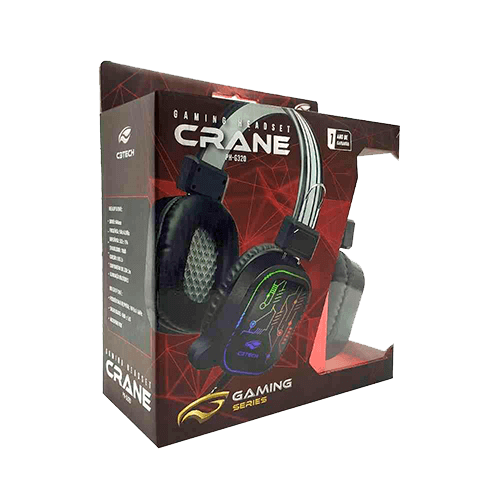 Headset Gamer Crane USB PH-G320Bk C3Tech