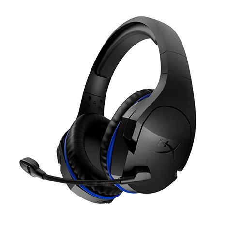 Headset Gamer HyperX Cloud Stinger Core Preto Azul Xbox HX-HSCSC-BK
