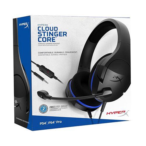 Headset Gamer HyperX Cloud Stinger Core Preto Azul Xbox HX-HSCSC-BK