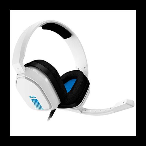 Headset Gamer Logitech Astro A10 Branco/Azul