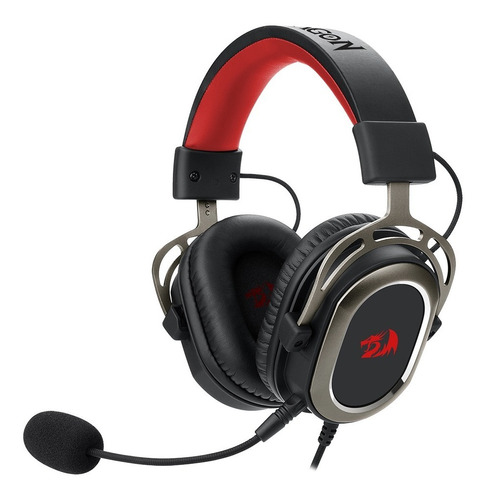 Headset Gamer Redragon H710 Helios Preto