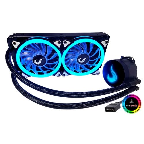 Hidro Cooler Rise Z240 Rgb Preto 240MM RM-WCB-02-RGB