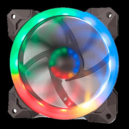 Kit Fan com 03unidades RGB 120mm Redragon GC-008