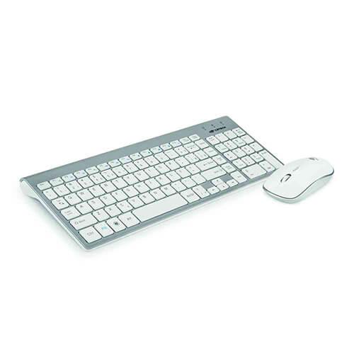 Kit Teclado+Mouse Sem Fio K-W510 C3Tech