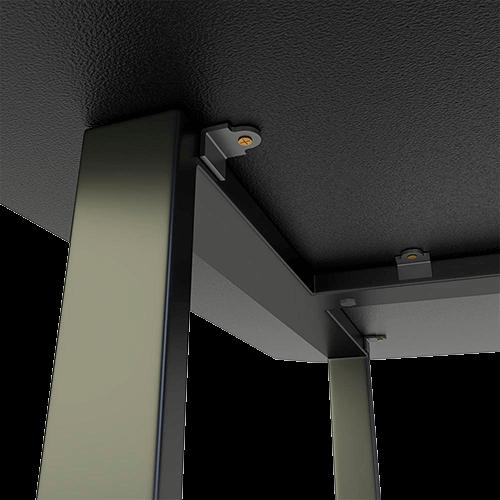 Mesa Gamer Fortrek Azul HMG01