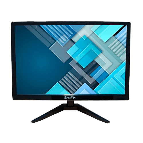 Monitor 19 BRAZILPC Led Widescreen BPC-M19XW HDMI, VGA 60hz