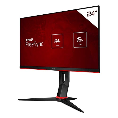 Monitor Gamer AOC 24 144Hz 24G2/BK Hero