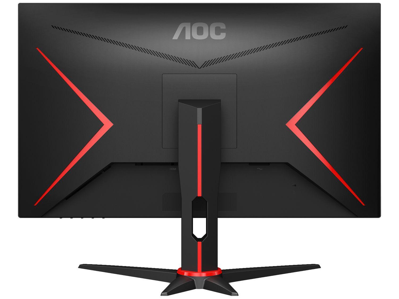 Monitor Gamer AOC Sniper 27' IPS, Wide, 75 Hz, Full HD, 1ms, Sync, 98% sRGB, HDMI/VGA- 27G2HE5