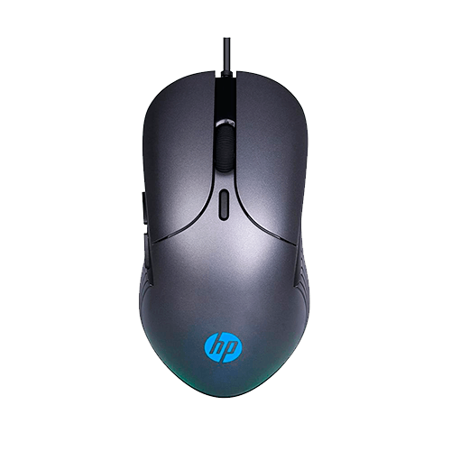 Mouse Gamer HP M280 2400Dpi Led Chumbo