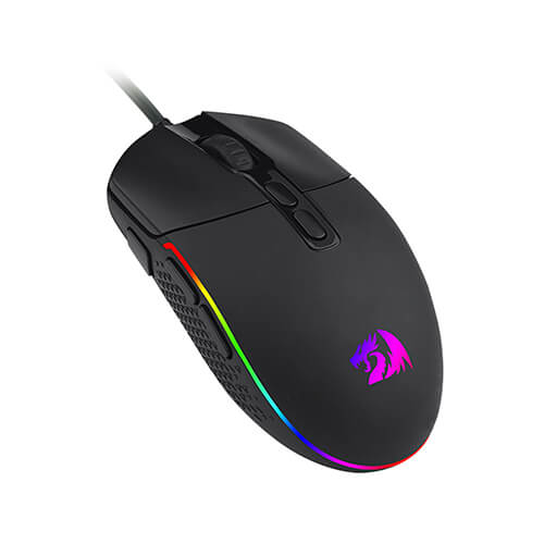 Mouse Gamer Redragon M719 RGB Invader 10000DPi