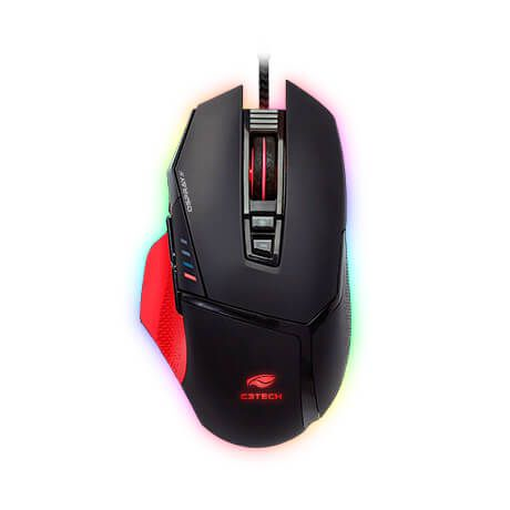 Mouse Gamer USB MG-800BK Osprey C3Tech