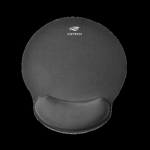 Mouse Pad com Apoio Gel C3Tech MP100