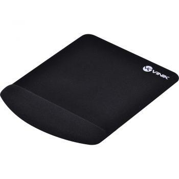Mouse Pad com Apoio Gel Vinik MPG-02P Quadrado