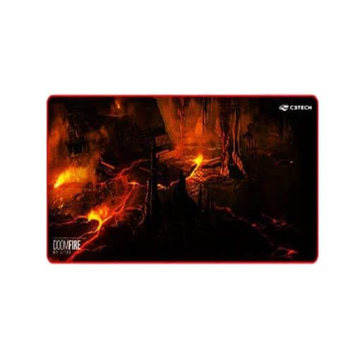 Mouse Pad Gamer G1100 Doom Fire C3Tech