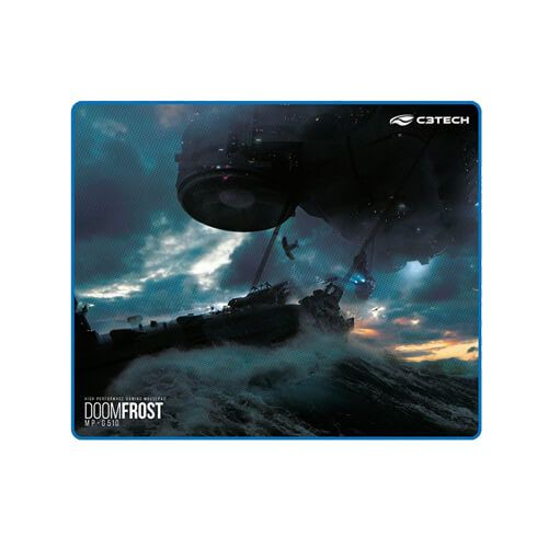 Mouse Pad Gamer G510 C3Tech Speed Com Borda 430X350Mm