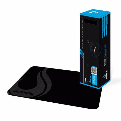 Mouse Pad Gamer Rise MP-04FBK 210X290MM