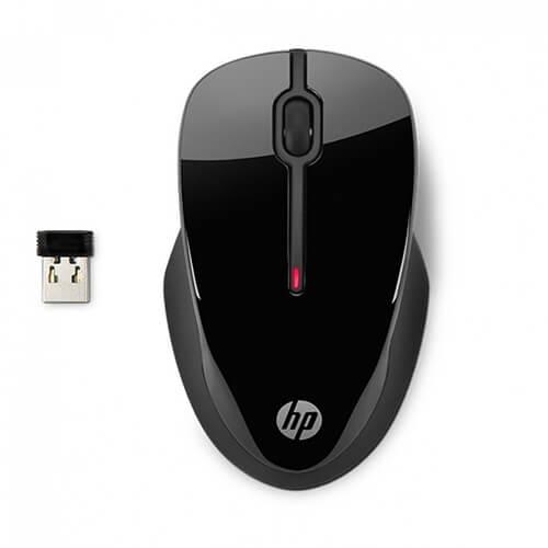 Mouse sem fio HP 250 1600DPi Preto