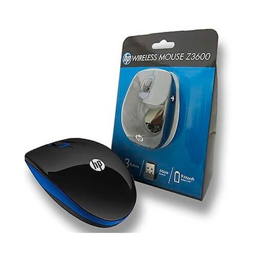 Mouse Sem Fio HP Z3600