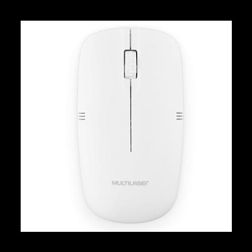 Mouse sem Fio MO286 Branco Multilaser