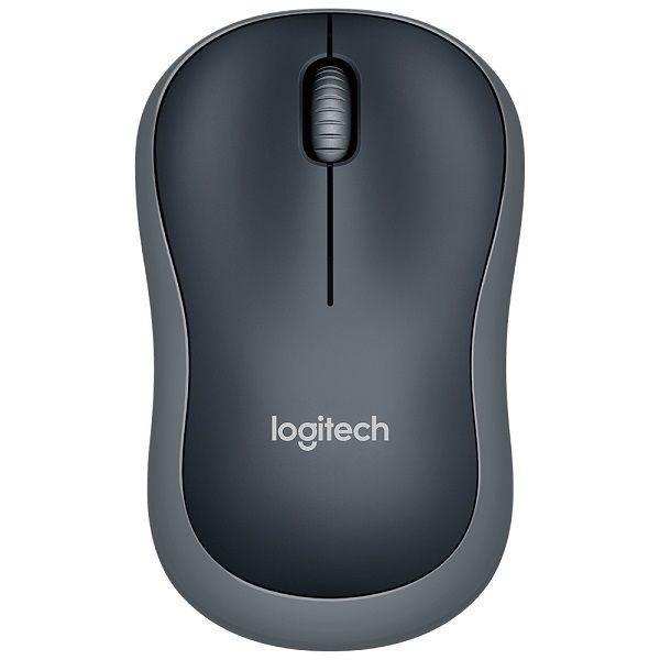 Mouse Sem Fio Nano Logitech M185 Cinza