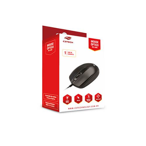 Mouse USB 2B MS30 Bk C3Tech