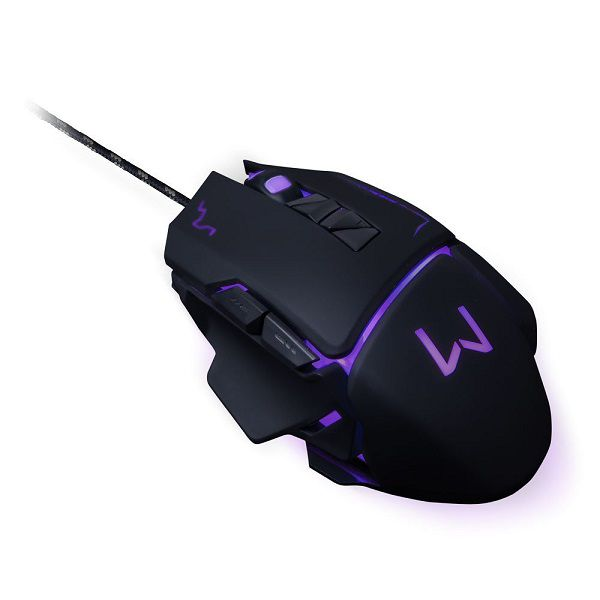 Mouse Usb Gamer Mo261 3600Dpi Led Blue  Warrior