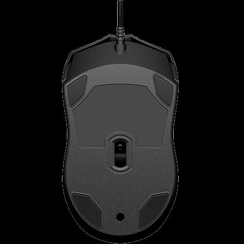 Mouse USB HP 100 Preto 1600Dpi, cabo 1.5metros