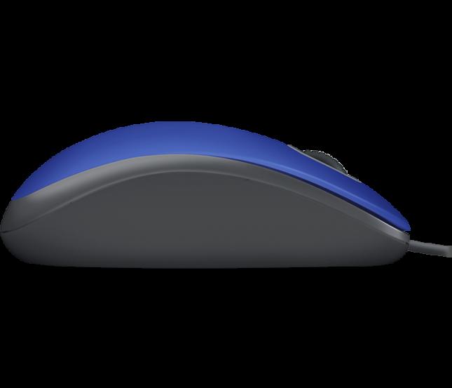 Mouse USB Logitech M110S Azul
