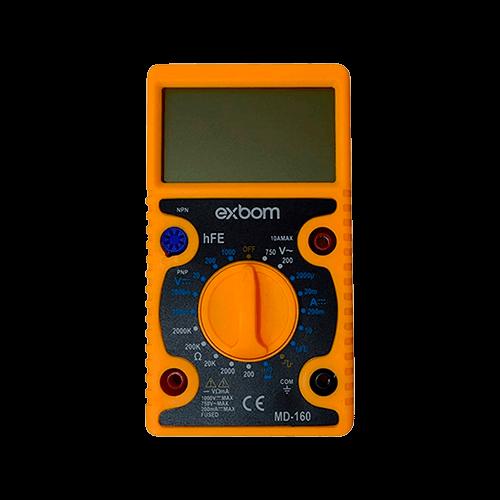 Multimetro Digital MD-160 EXBOM