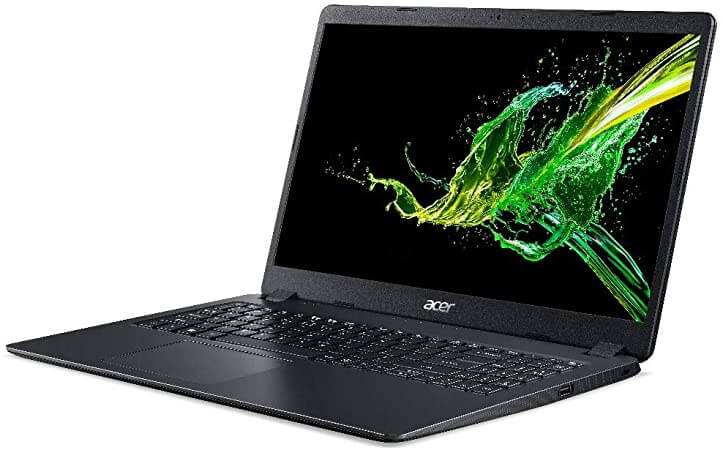 Notebook Acer Intel Core i3 Aspire 3, 4GB 1TB Tela 15.6
