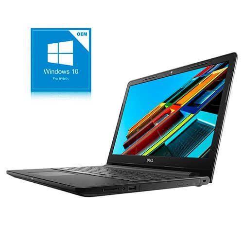 """Notebook Dell Intel Core i3 4GB 1TB Tela 15.6"""" Windows 10 Pro"""