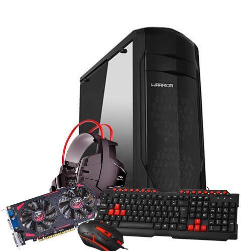 Pc Gamer Amd A6-7400K 3.5Ghz 8Gb 1Tb Gpu GTX550Ti com Kit Gamer