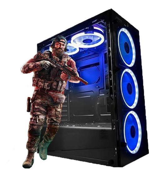 PC Gamer Intel Core i3-10100F 8GB SSD480 RX550-4GB 10ªGeração