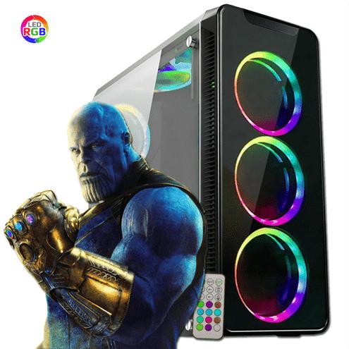 Pc Gamer Intel Core I5-10400F 16GB SSD480  RX550 10ªGeração